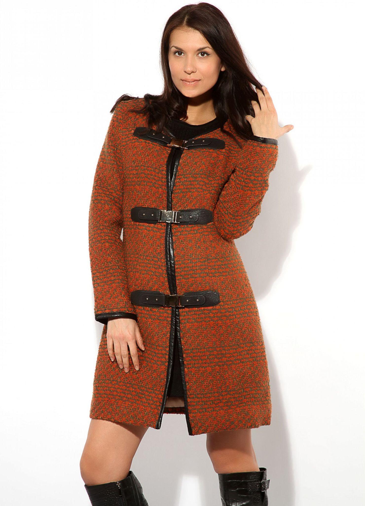 мода весна лето 2018 для женщин 30 лет: пальто оранжевое
