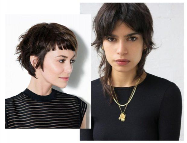 модные стрижки 2019 2020 года: гаврош на короткие на средние волосы