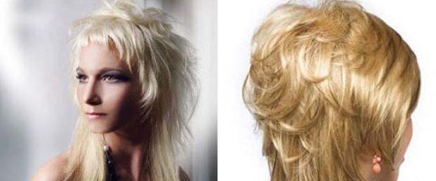 модные стрижки 2019 2020 года: аврора на длинные волосы с короткой челкой